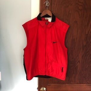 Men's Medium Red & Black Nike Athletic Vest